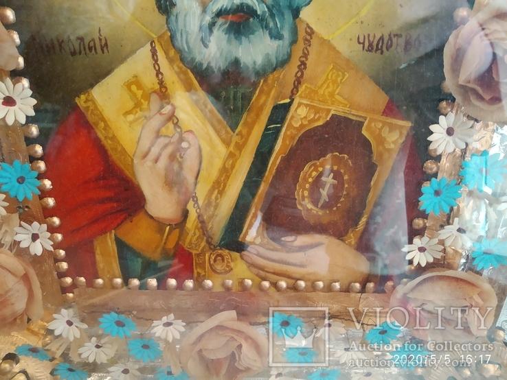 Икона Николай Чудотворец 2, фото №7