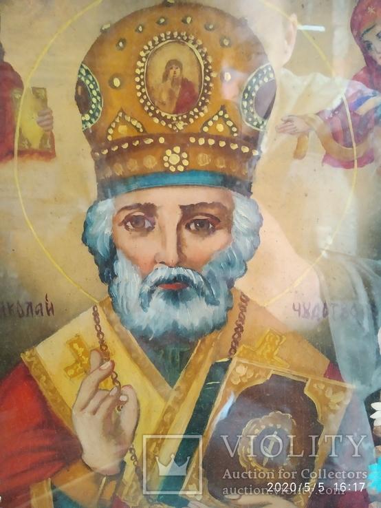 Икона Николай Чудотворец 2, фото №8