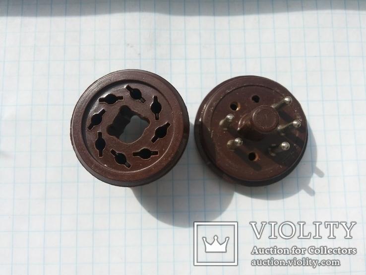 Переключатель напряжения 115V-127V-220V эбонит 1 шт, фото №4