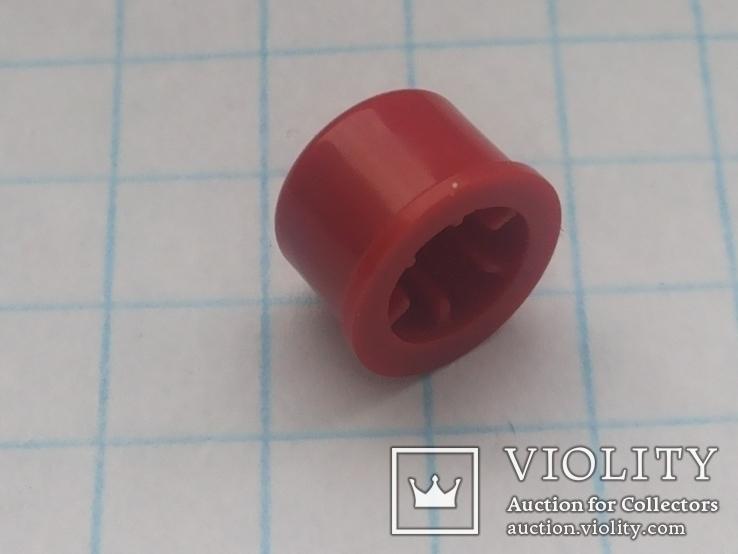 Колпачок на кнопку микро 7х3,1 красный 155 шт, фото №3