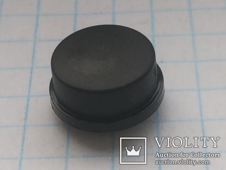 Колпачок на кнопку микро 12х4 черный 190 шт, фото №2