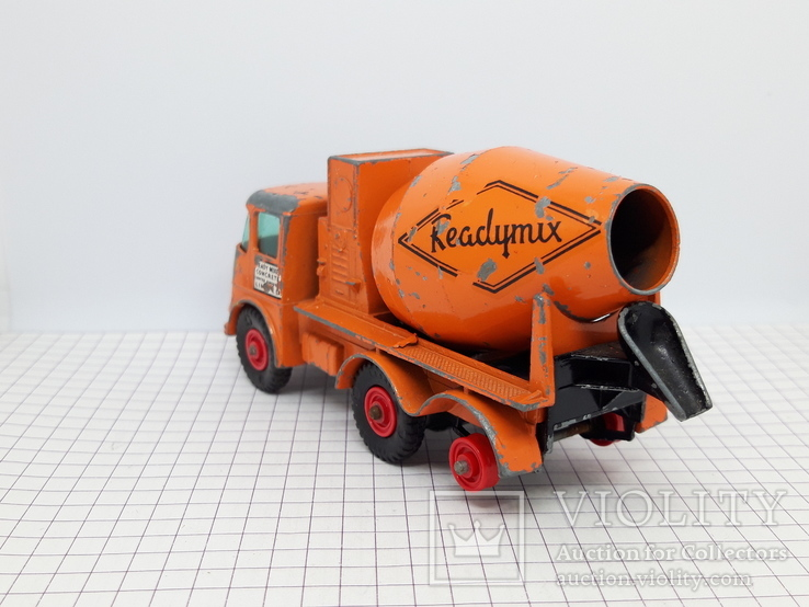 Matchbox Ready Mix Concrete Truck Made in England (cc), фото №5