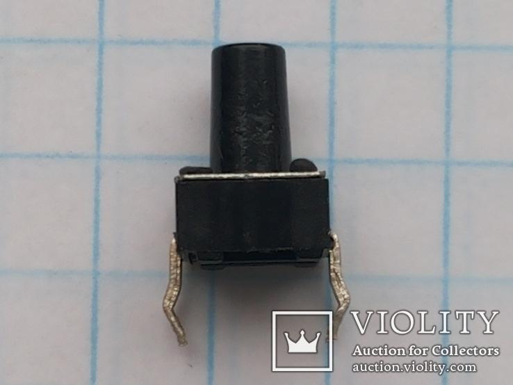 Кнопка тактовая 6х6х9 DIP 4 pin 200 шт, фото №5