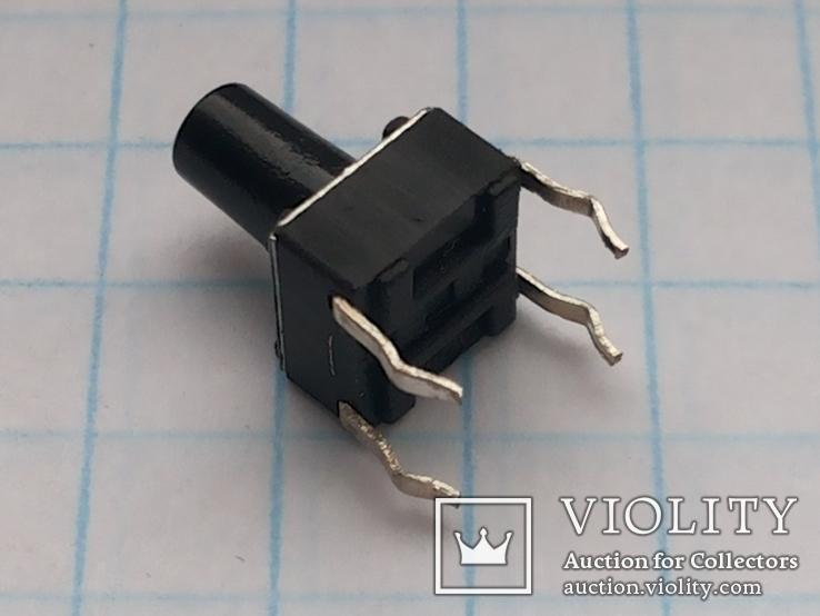 Кнопка тактовая 6х6х9 DIP 4 pin 200 шт, фото №6