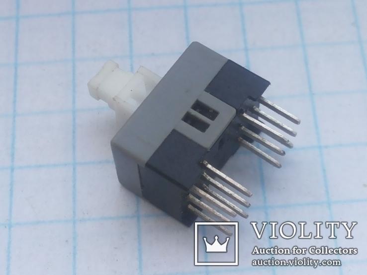 Кнопка микро PS-42E85L-02 12pin с фикс для пультов Yamaha 13 шт, фото №2