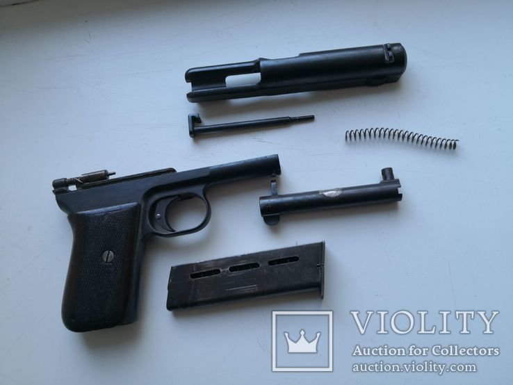ММГ пистолета Маузера 1914 (схп)
