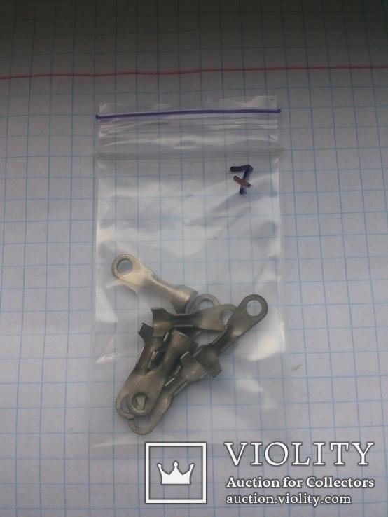 Наконечник кольцевой луженый обжимной разный 85 шт, фото №11