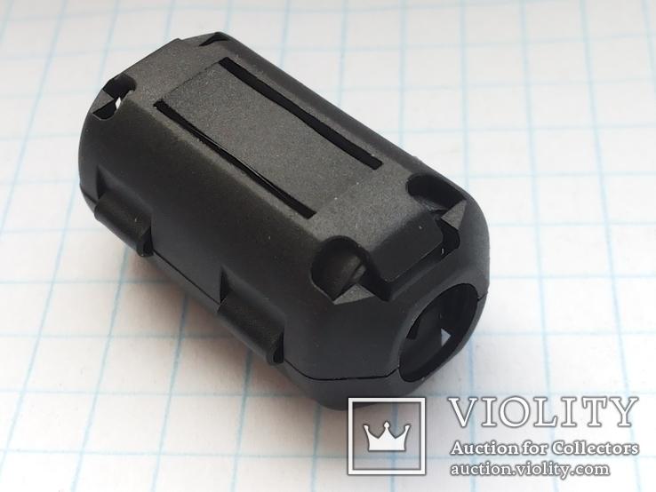 Ферритовый фильтр на кабель 7 мм ZCAT 30х16,6 мм 11 шт, фото №3