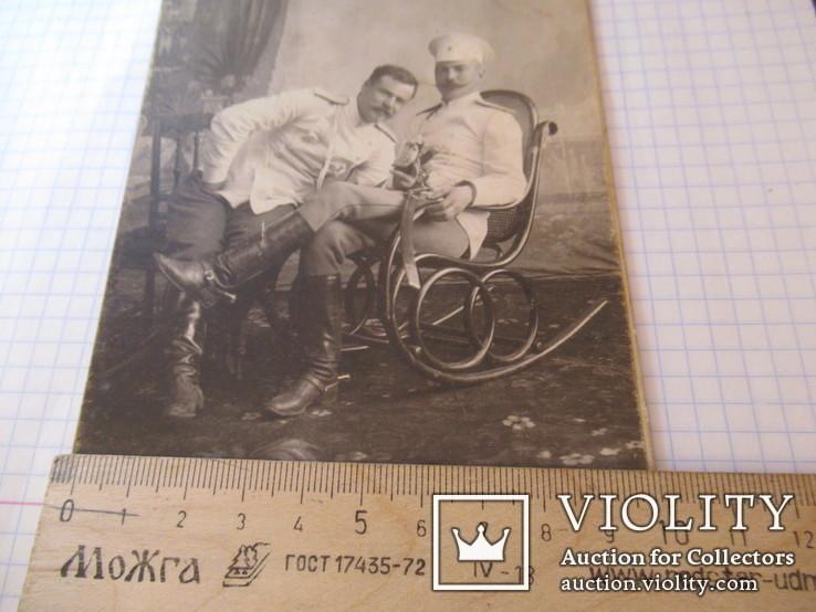 Военные с бутылкой Харбин Новый город С.В.Сендковский, фото №4