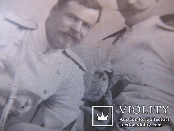 Военные с бутылкой Харбин Новый город С.В.Сендковский, фото №9