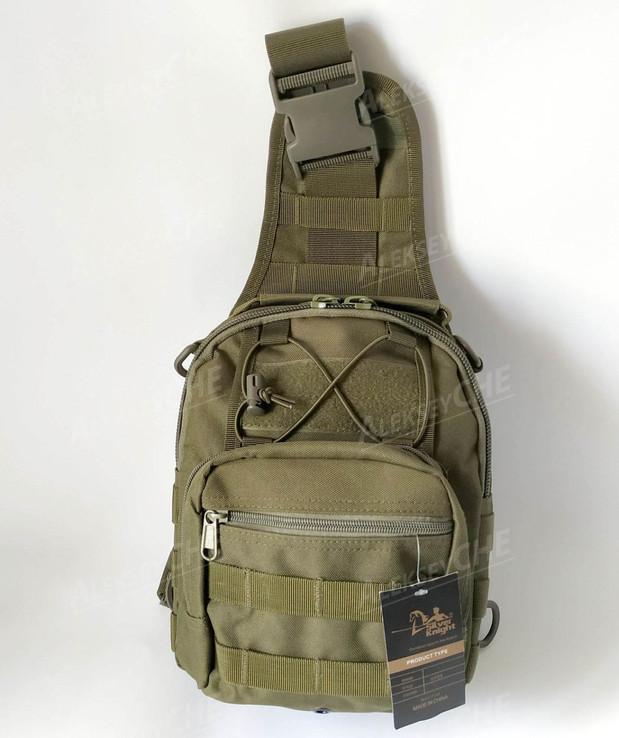 Тактическая - штурмовая универсальная сумка на 9 литров с системой M.O.L.L.E