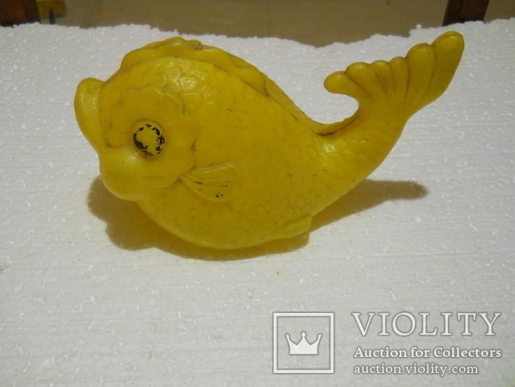 Пластмассовая советская рыбка, фото №2