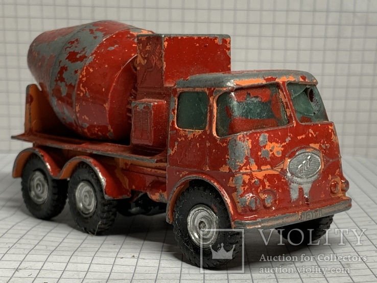 Matchbox Lesney Kingsize No13 Ready Mix Concrete Truck, фото №2