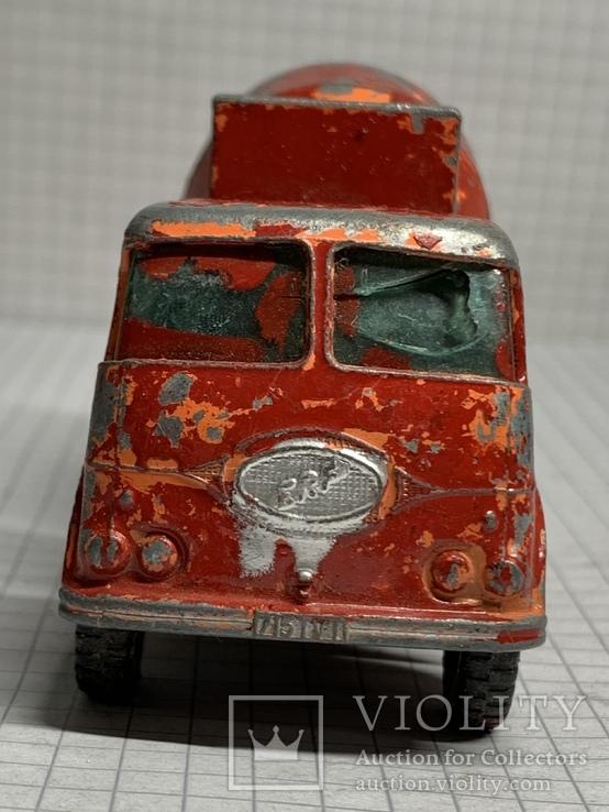 Matchbox Lesney Kingsize No13 Ready Mix Concrete Truck, фото №5
