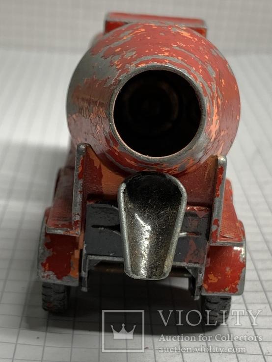 Matchbox Lesney Kingsize No13 Ready Mix Concrete Truck, фото №7