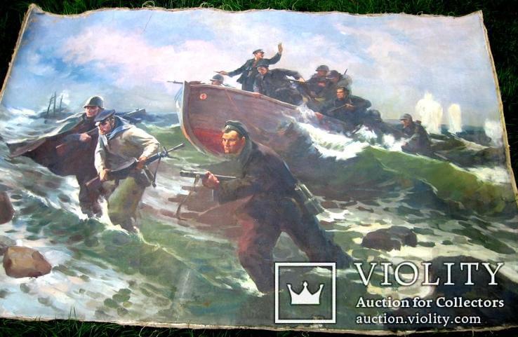 Морський бій - атака. Копія., фото №4