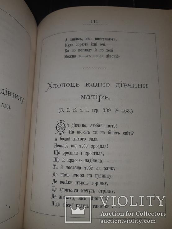 1881 Старицький - Пiснi i думи в 2 частинах, фото №9