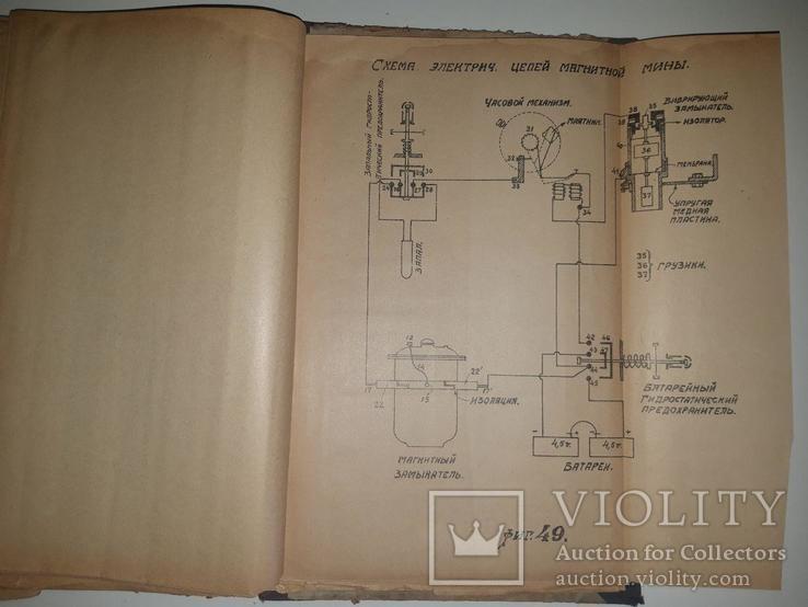 Основания минного дела. Подводные мины. П. М. Иванов. 1929 г. Тираж 1000 экз, фото №9