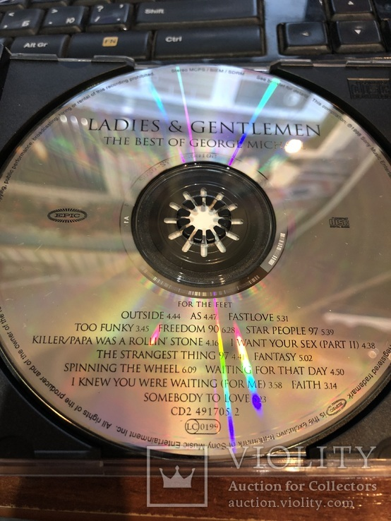CD диск George Michael The Best, фото №4