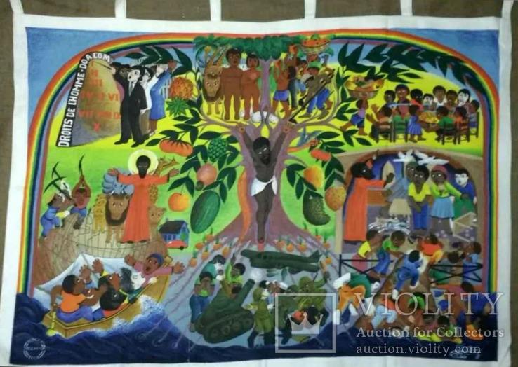 Картина 1982 Гаити Жак Шери Art Print. 2 шт, фото №3