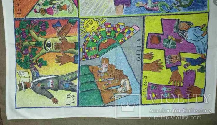 Картина 1982 Гаити Жак Шери Art Print. 2 шт, фото №9