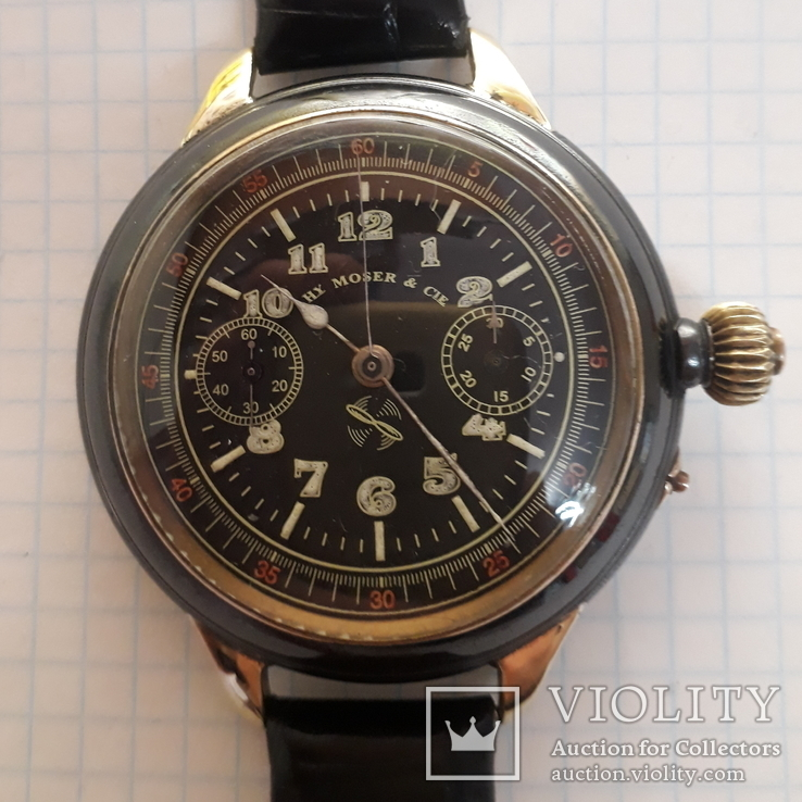 Часы хронограф HY MOSER & CIE, фото №2