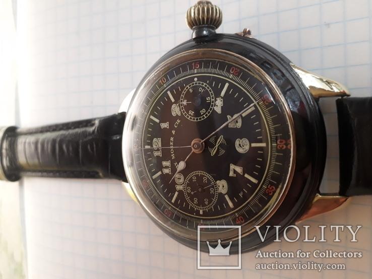 Часы хронограф HY MOSER & CIE, фото №5