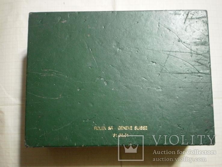 Оригинальная коробка для наручных часов ROLEX, фото №3