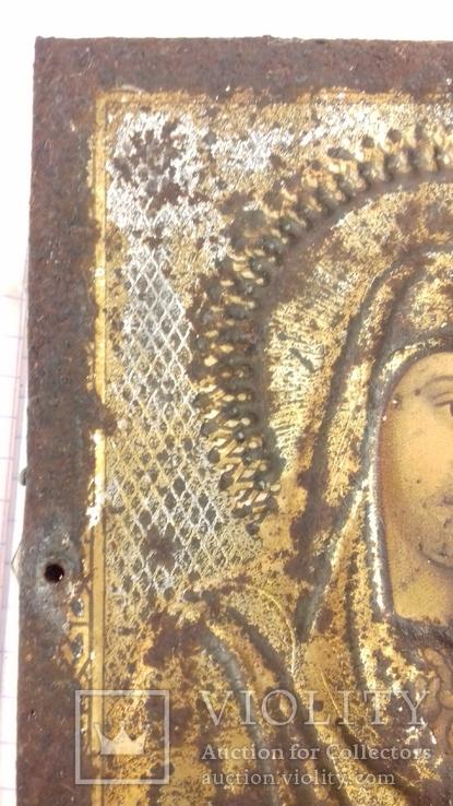 Ікона 1896р.  911см. Казанська, фото №8