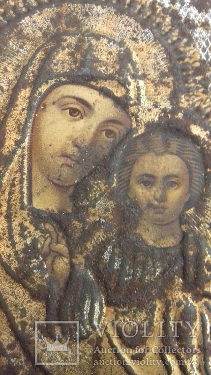 Ікона 1896р.  911см. Казанська, фото №11