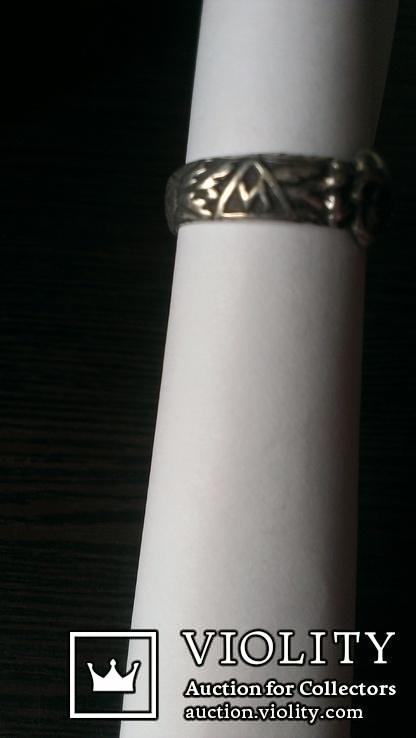 Кольцо офицера СС( (КОПИЯ), фото №8