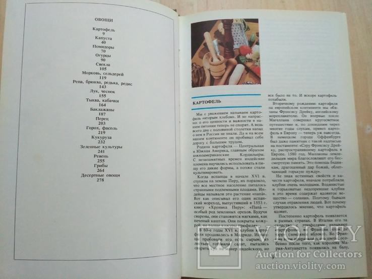 """Губа """"Овощи и фрукты на вашем столе"""" 1987р., фото №12"""