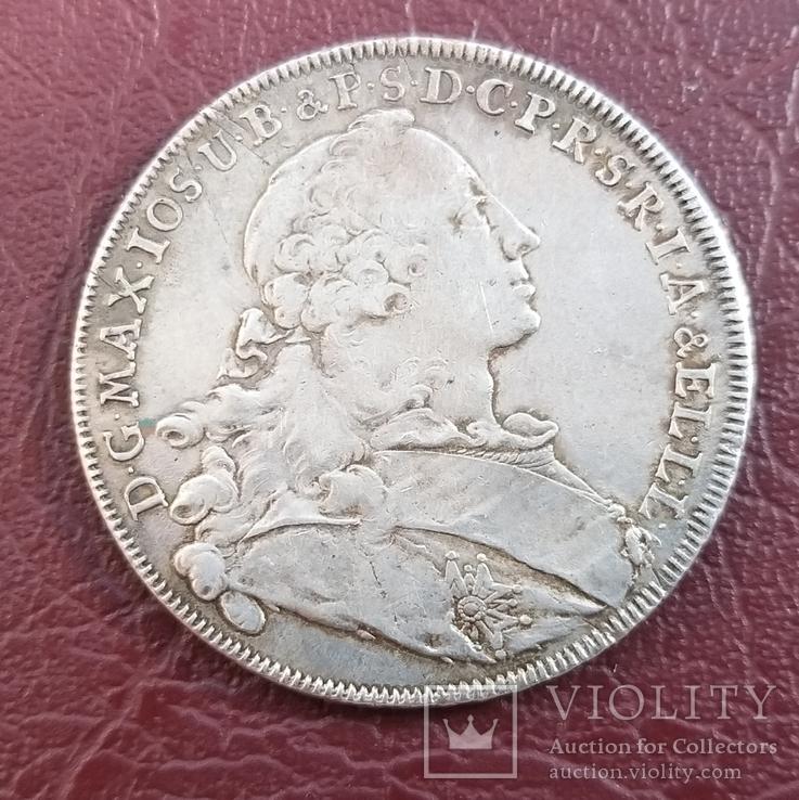 Талер 1755 года Бавария, фото №12