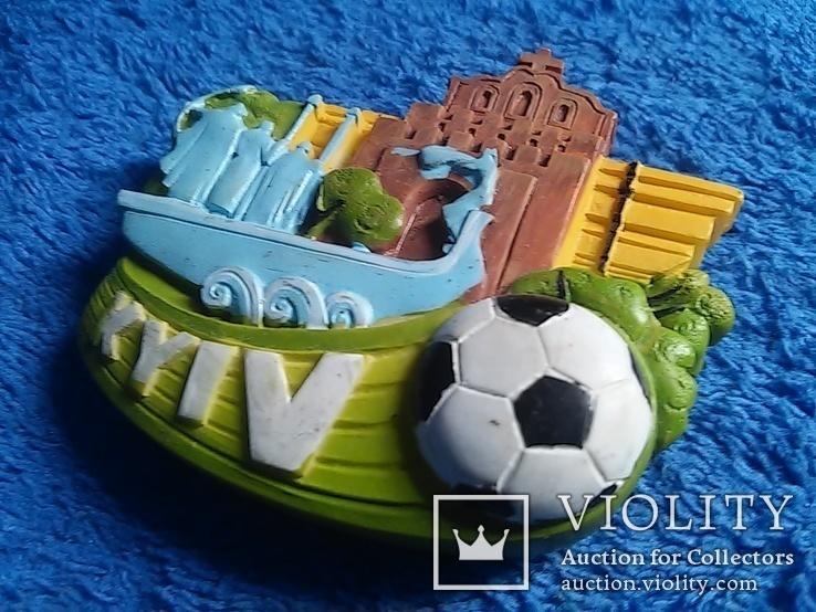 Сувенирный магнит: Kyiv  65Х5,5 см керамика, фото №3