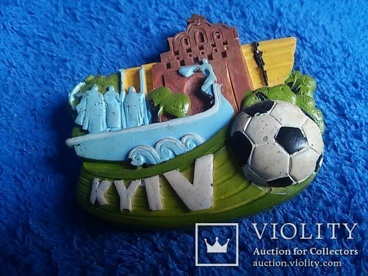Сувенирный магнит: Kyiv  65Х5,5 см керамика, фото №5