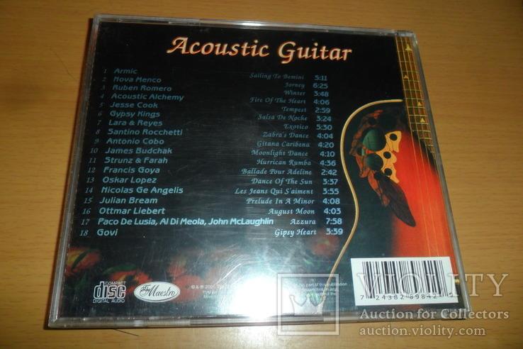 Диск CD сд Acoustic Guitar instrumental гитара, фото №4