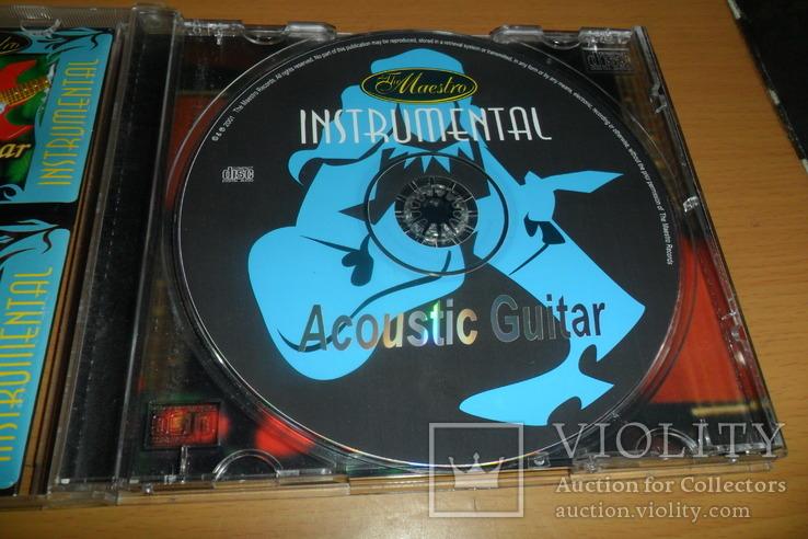 Диск CD сд Acoustic Guitar instrumental гитара, фото №8
