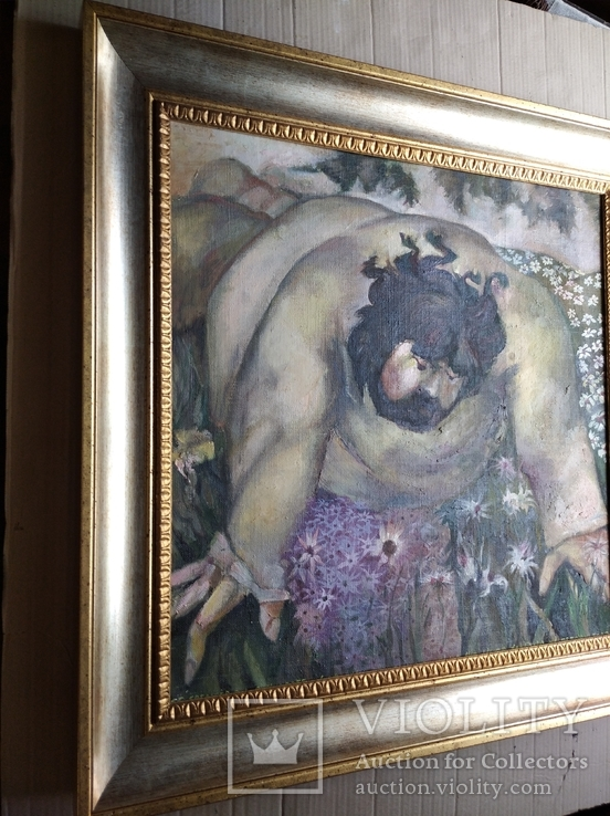 """""""Запах цветов"""" х/д/масло. 2002г. А.Г. Уваров.(1044-2015), фото №9"""