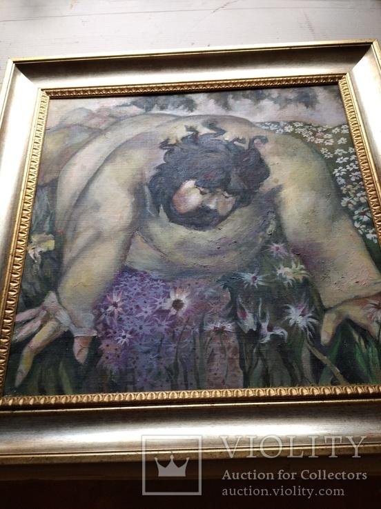 """""""Запах цветов"""" х/д/масло. 2002г. А.Г. Уваров.(1044-2015), фото №10"""