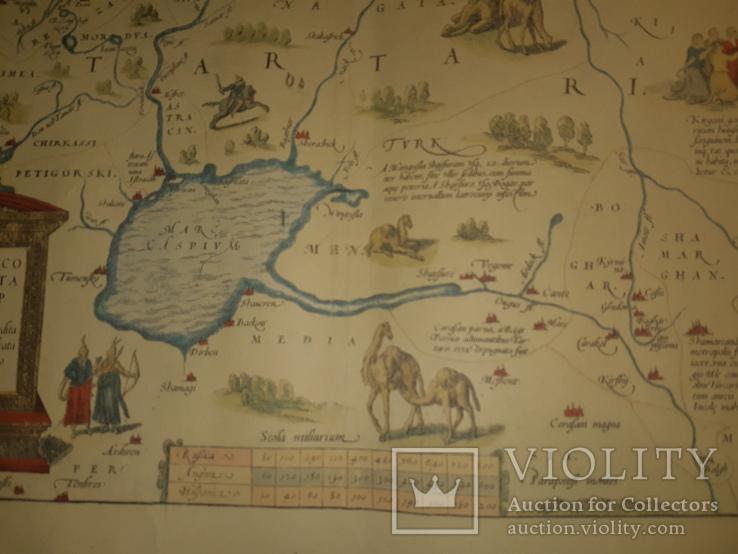 1570 Карта Московии и Татарии (19-20 век), фото №8