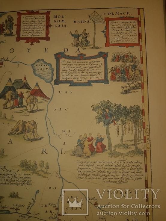 1570 Карта Московии и Татарии (19-20 век), фото №9