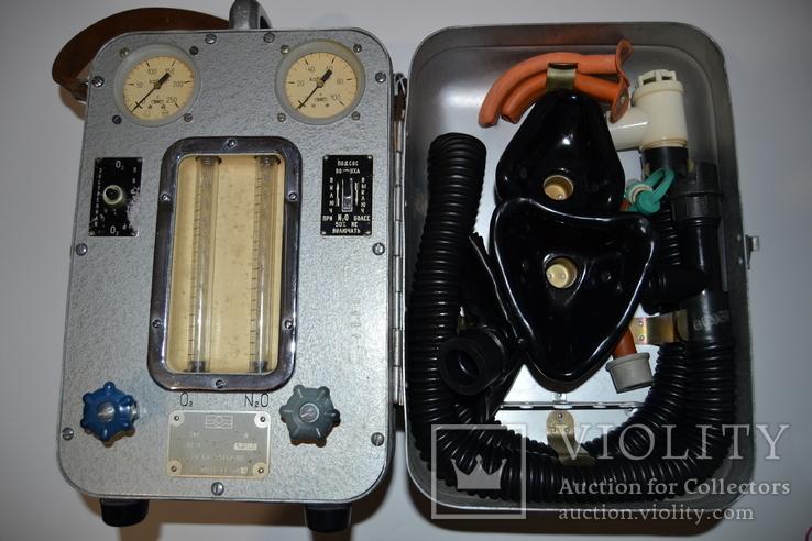 Аппарат АН-8 ингаляционного наркоза, фото №6