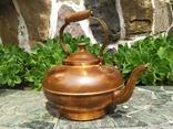 Чайник коллекционный Португалия клеймо медь, фото №3