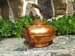 Чайник коллекционный Португалия клеймо медь, фото №4