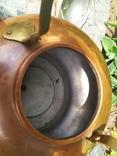Чайник коллекционный Португалия клеймо медь, фото №7
