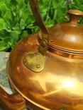 Чайник коллекционный Португалия клеймо медь, фото №9