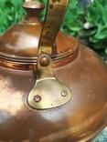 Чайник коллекционный Португалия клеймо медь, фото №10