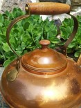 Чайник коллекционный Португалия клеймо медь, фото №11