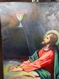 Икона Моление о чаше 92х71 см., фото №4