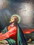 Икона Моление о чаше 92х71 см., фото №5